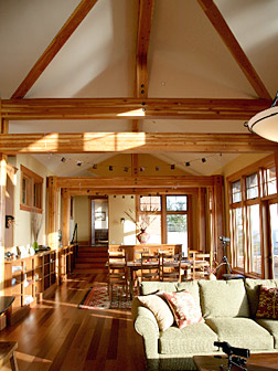 Mittendorf Quality Construction, San Juan Island home