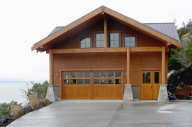 Mittendorf Quality Construction - San Juan island - new garage